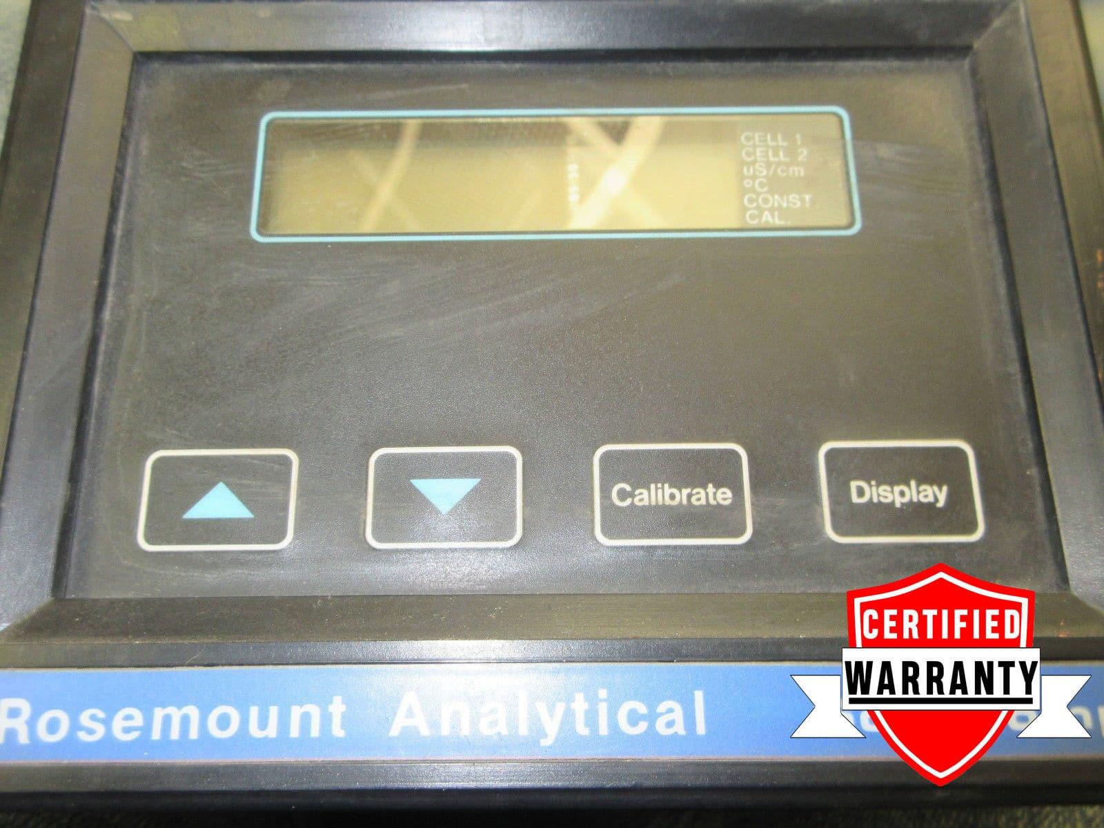 V2 GOOD ROSEMOUNT BECKMAN SOLU COMP WATER QUALITY ANALYZER SCL-C-002-M2